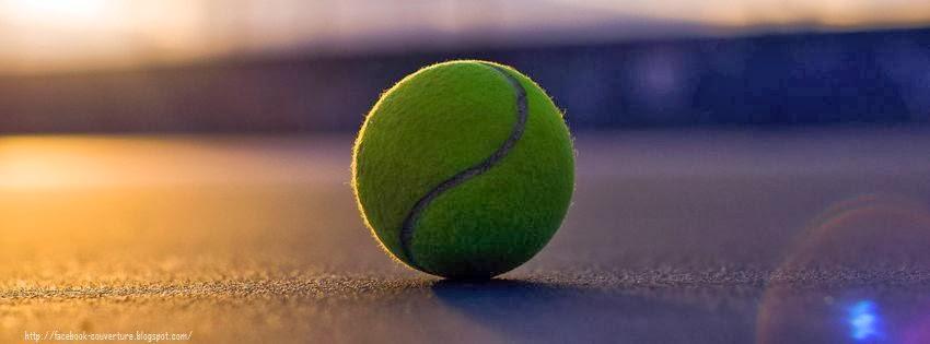 Couverture pour journal facebook tennis