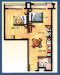 Capri Oasis Pasig 2 Bedroom Unit, Condominium for sale in Pasig, Filinvest