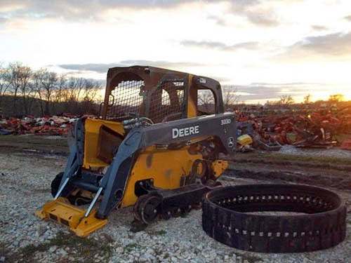used john deere skid steer parts