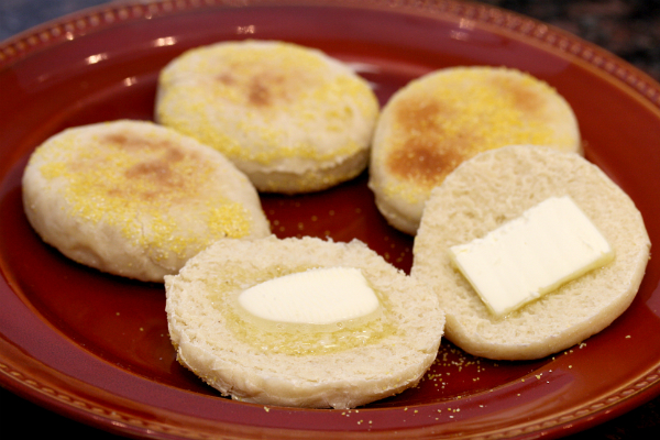 Homemade English Muffins Recipe | In The Kitchen With Honeyville