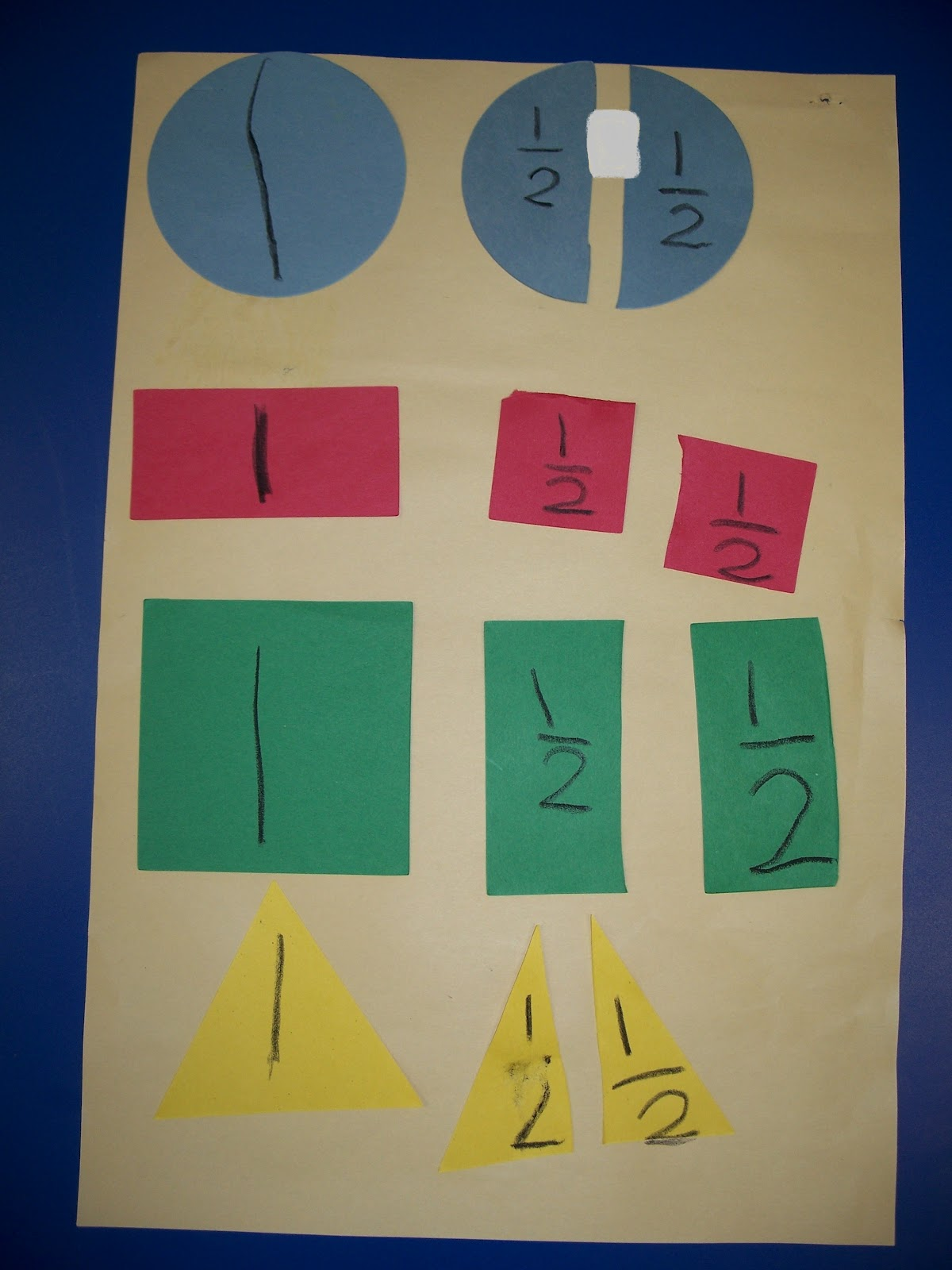 Kinder Friendly: Fractions and Graphing