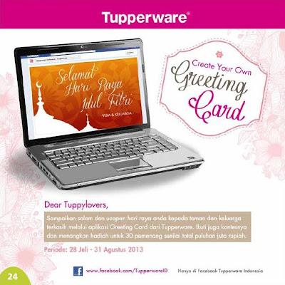 24 Katalog Harga dan Promo Tupperware Terbaru Bulan Agustus 2013