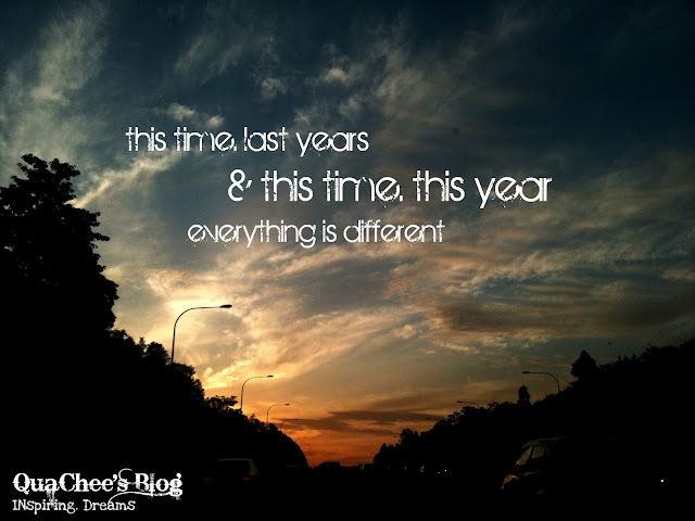 this time last years