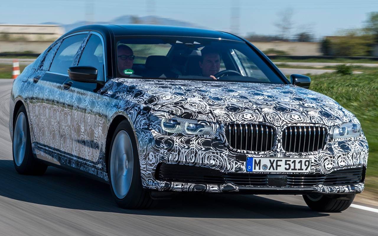 2016 all new BMW 7 Series