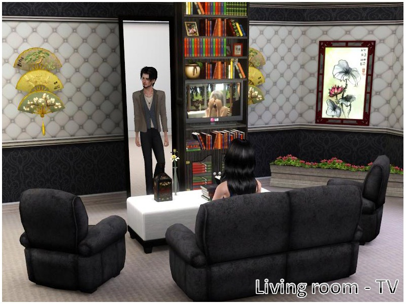 Possibly One Of The Most Awesome Pieces Player Created Content Ive Ever Seen Sims 3 Secret Door Sliding Bookcase Is Super