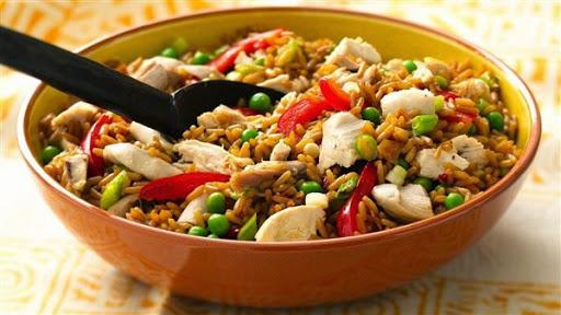 Bahan Resep Nasi Goreng Ayam Spesial ala Gerobak Kaki Lima