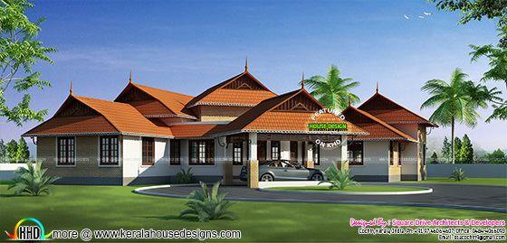 Kerala style home design 2016