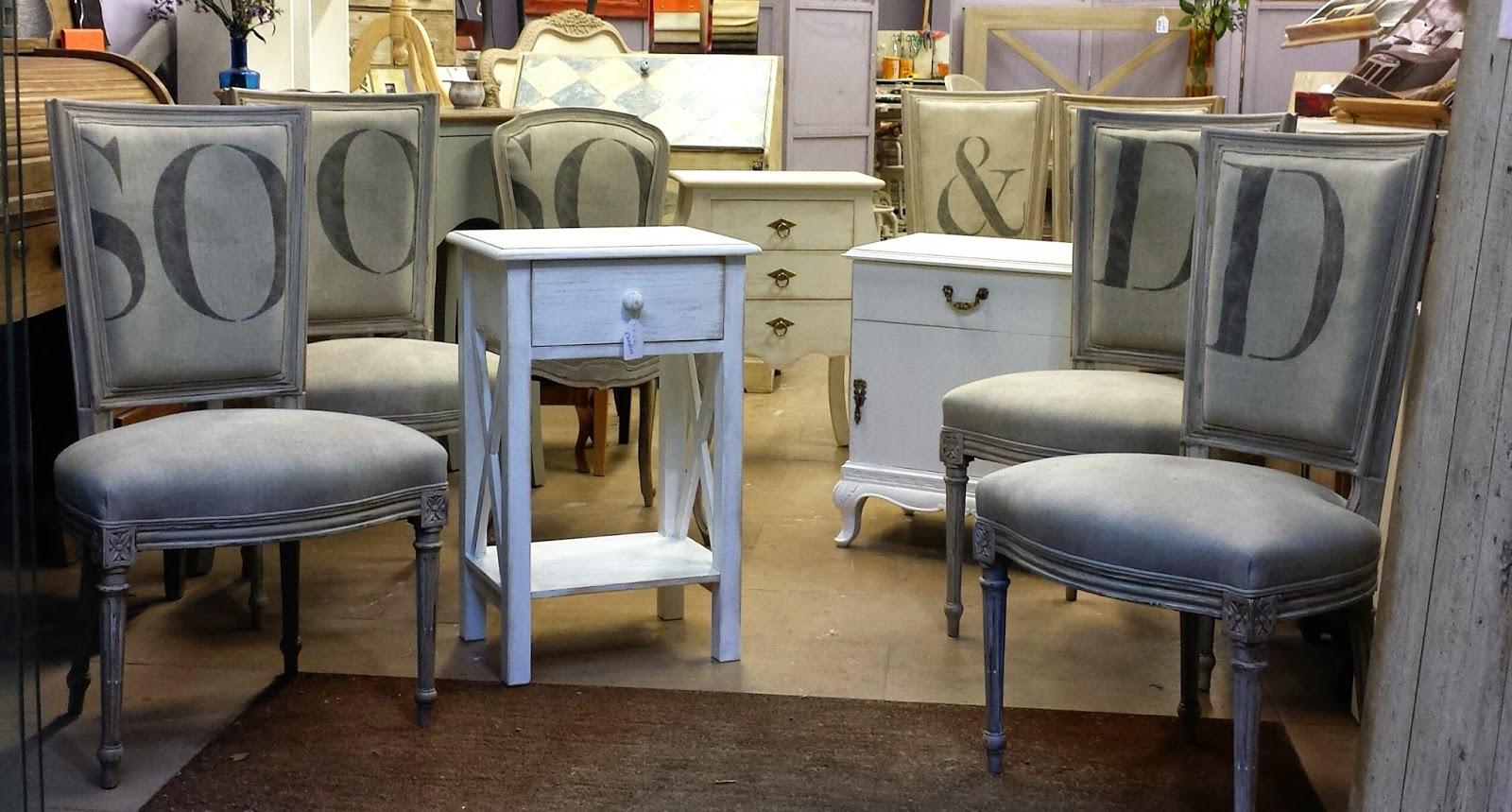 Candini muebles pintados nuevos y redecorados - Restauracion de sillas ...