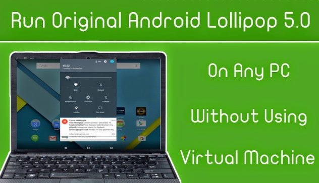 Android lollipop iso download for virtual box butik work