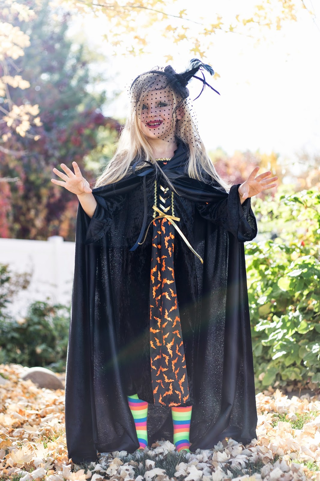 do it yourself divas: DIY: Little Girl Witch Costume for Halloween