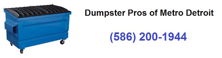 Dumpster Pros of Metro Detroit