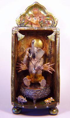 P.Guhin, shrine, altar