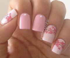 Decoraciones lindas para uñas largas