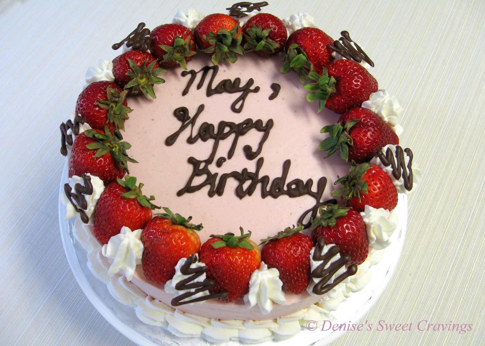 Layered Strawberry Cheese Cake