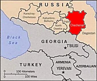 Resultado de imagem para chechenia