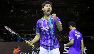 Singapore Open Champion Badminton 2015