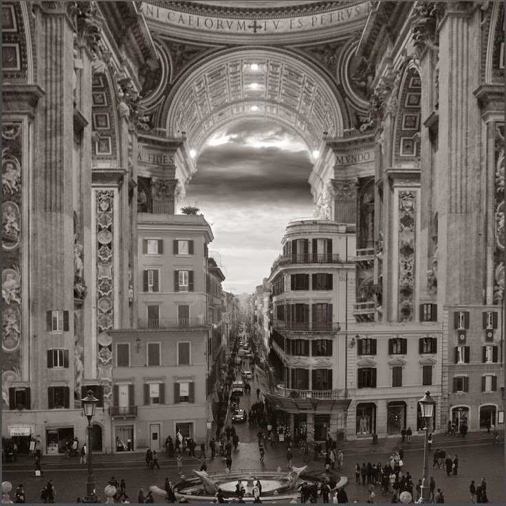 07-A-Hole-in-the-Wall-Thomas-Barbèy-Black-and-White-Surreal-Photography-www-designstack-co