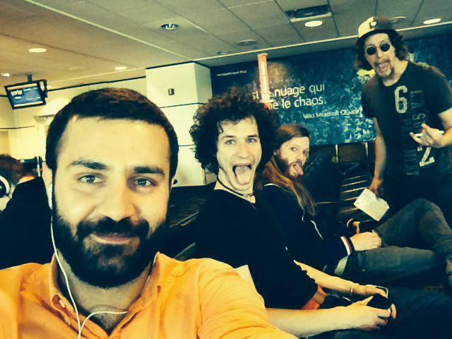 Shahin Najafi and the Band