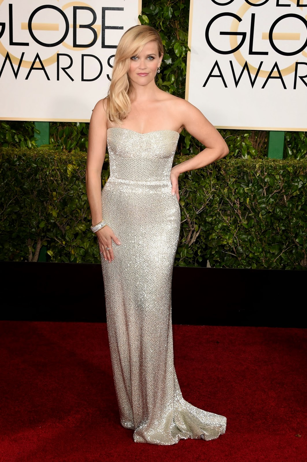 Reese Witherspoon best dressed at Golden Globe Awards 2015