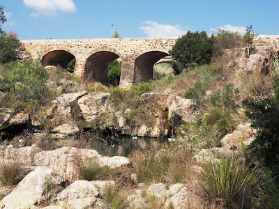 Roman Bridge at Santa Eulalia, Ibiza