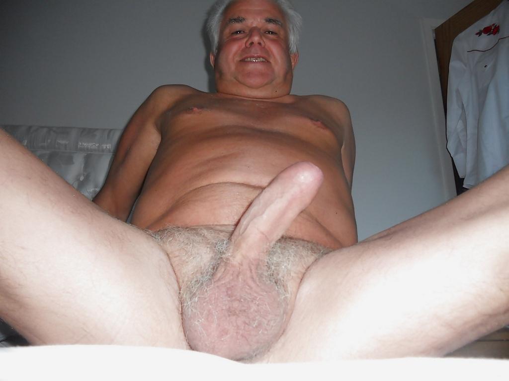 oldermen blogspot - huge cock - hairy silver gay ball
