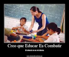 EDUCAR ES COMBATIR