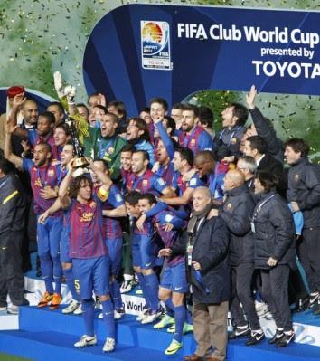 FÚTBOL-El Barça campeón del mundo 2011