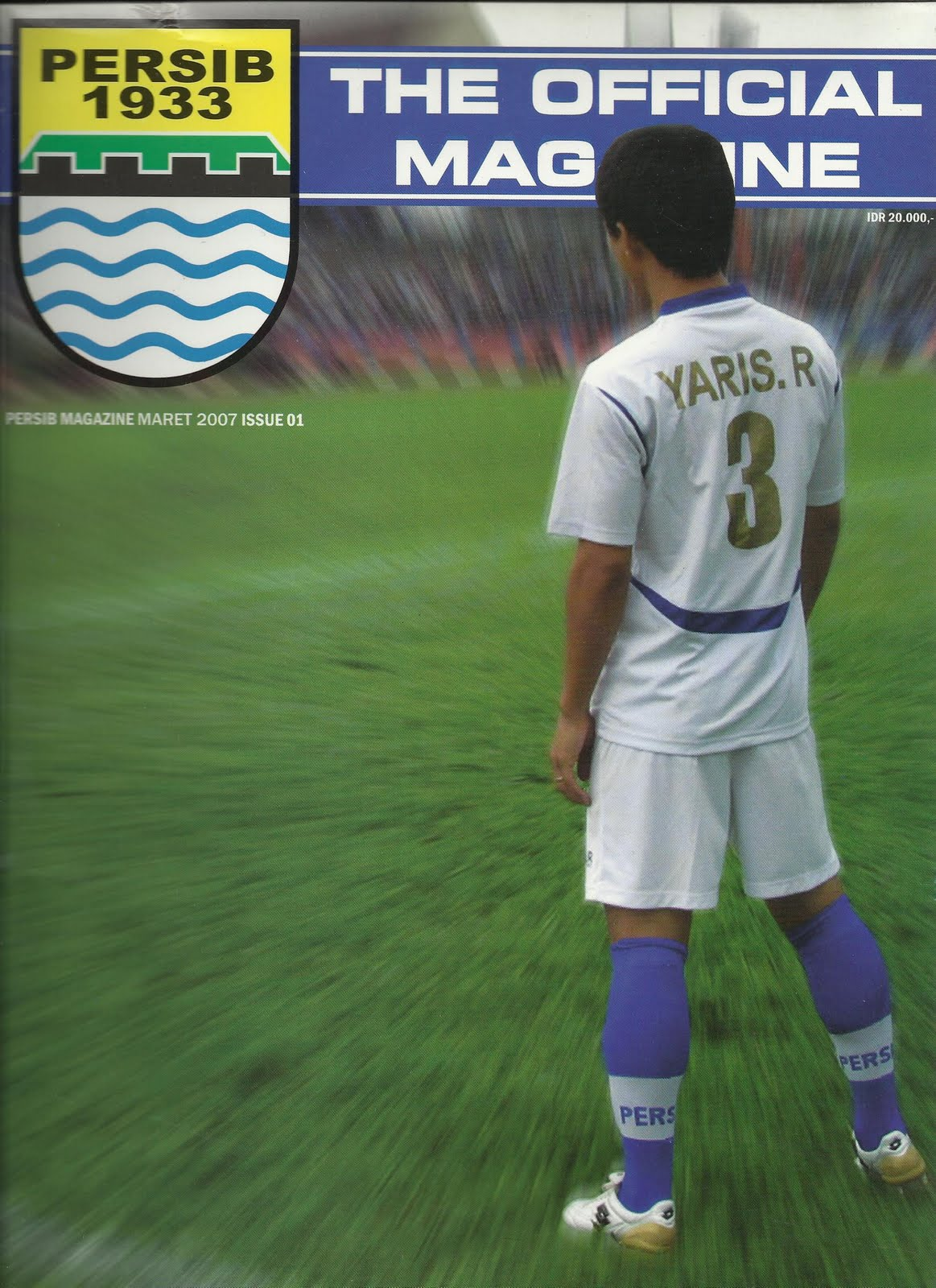 Asian Football Memorabilia: Persib Official Magazine 1