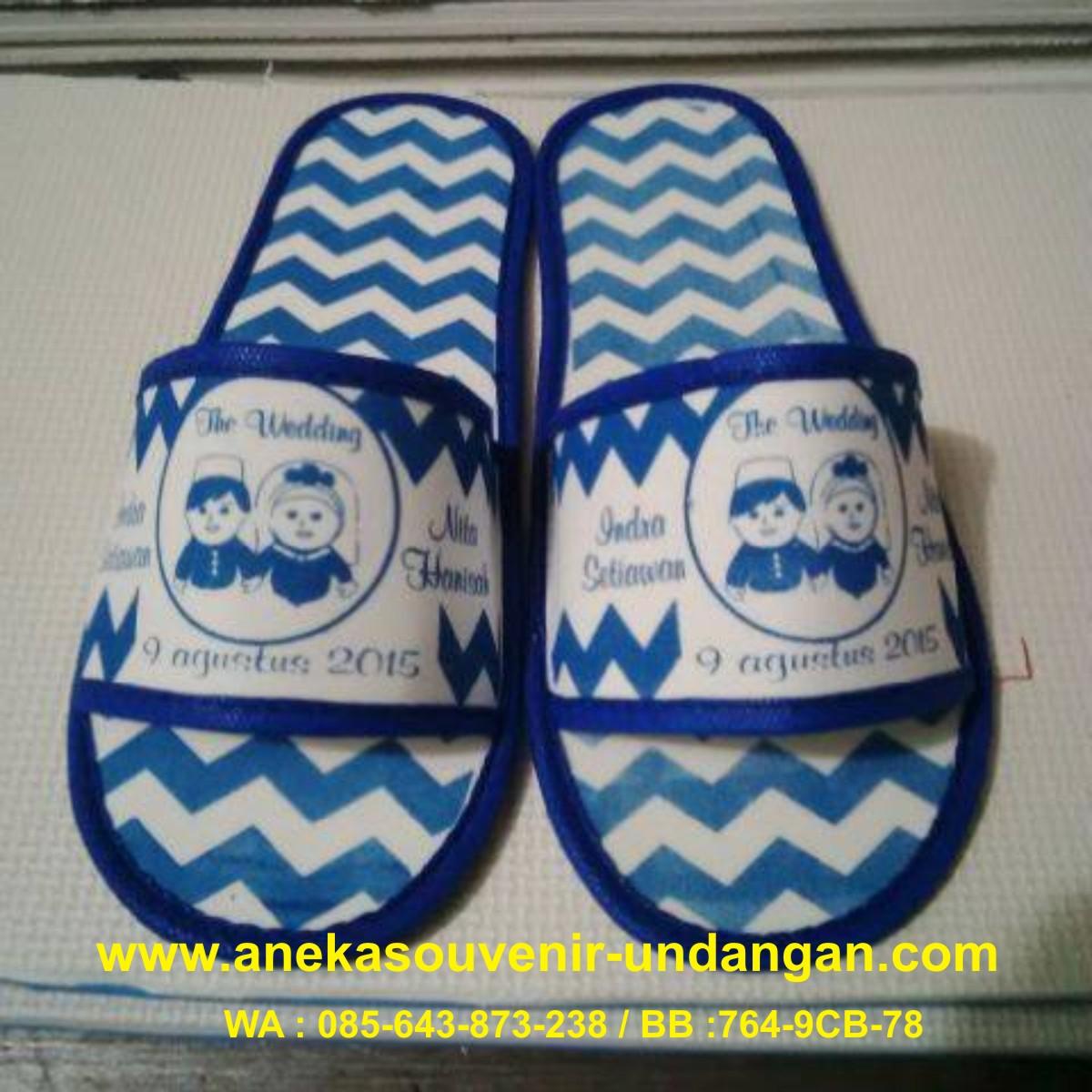 Souvenir Pernikahan Sandal Hotel Batik Murah | Toko ...