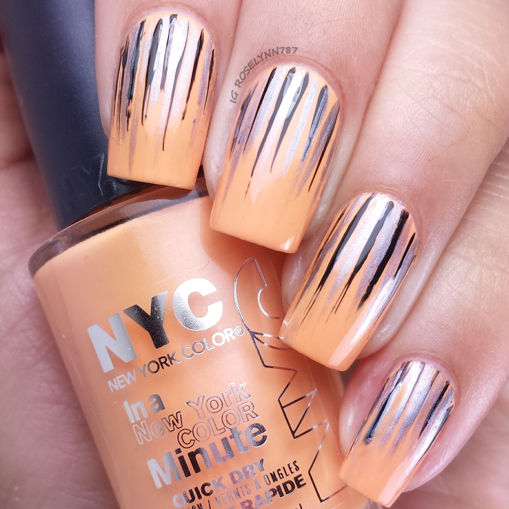 New York Color Showtime Nail Art Strippers - Manicured & Marvelous