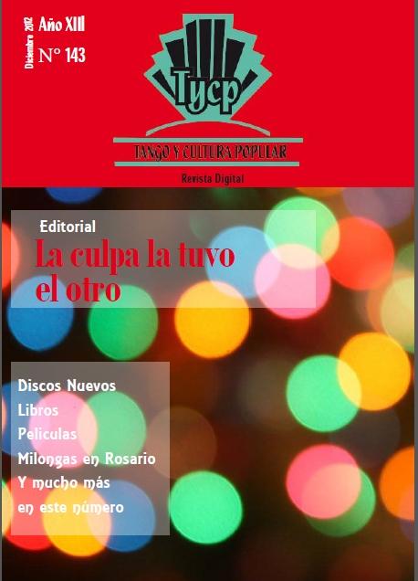 Tango y Cultura Popular N° 143