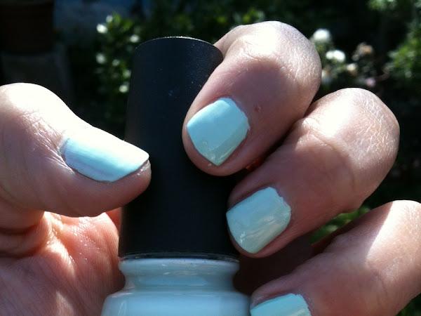 El menta con todo!: Esmalte Primaveral Re-fresh Mint China Glaze