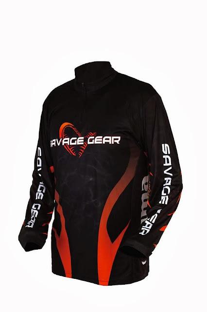 Quentin Combe Savage Gear Nouveautés News 2014 Vêtements Tournament Shirt Jersey Competition