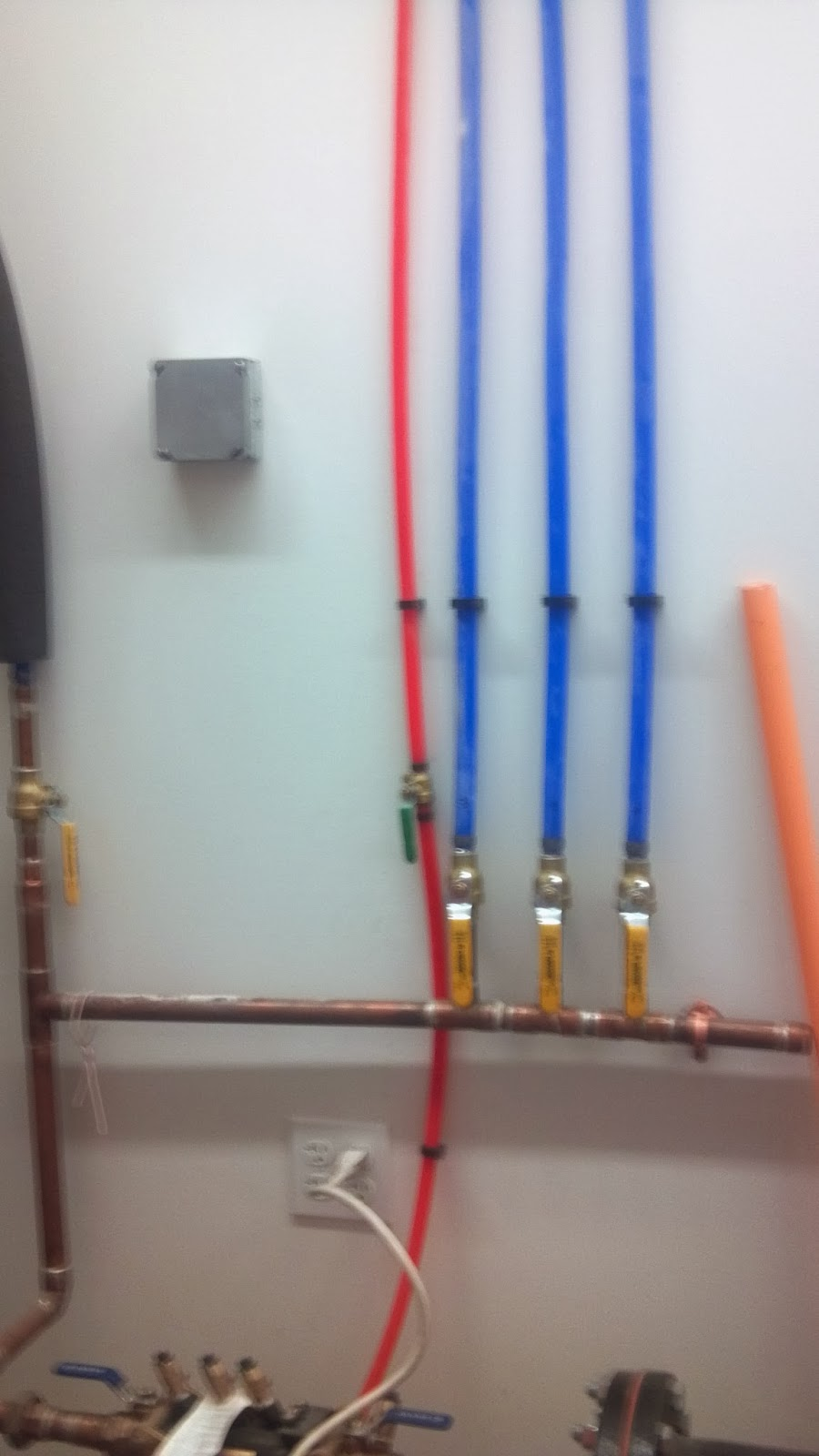Nick 39 s fire electrical safety security blog pex the for Pex water pipe insulation