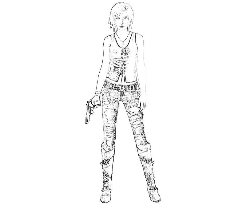 printable-10-parasite-eve-aya-brea-part-2_coloring-pages-4