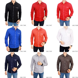 Kemeja Fashion Slim Fit