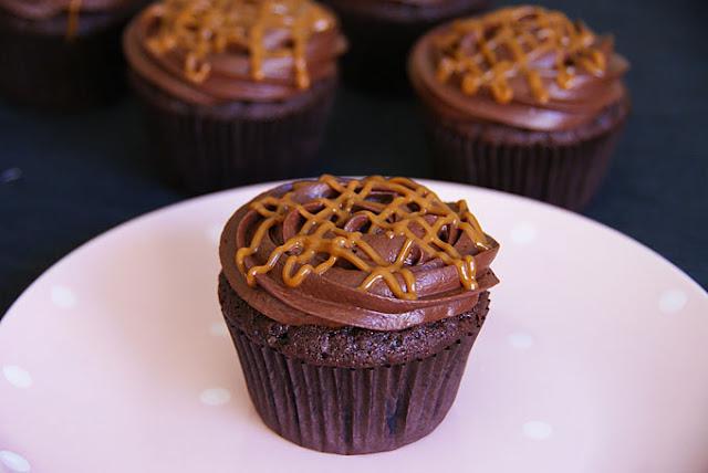 Cupcakes De Chocolate Y Dulce De Leche