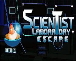 Juegos de Escape Scientist Laboratory Escape