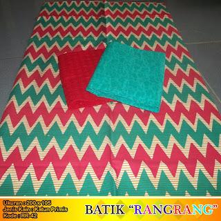 Kain Batik Rangrang dan Kain Embos RR42  Auliya Batik
