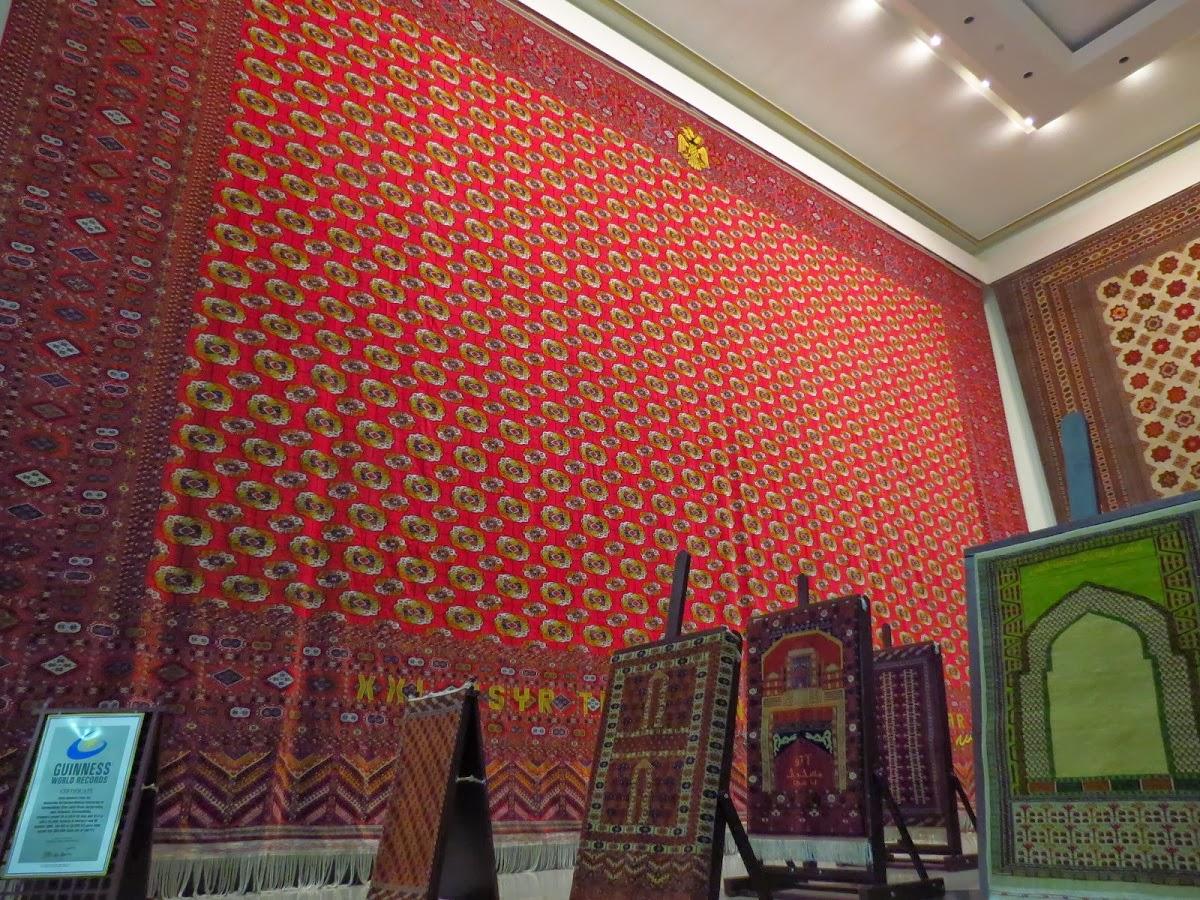 Burn Up the Road: The Carpet Museum; Ashgabat, Turkmenistan