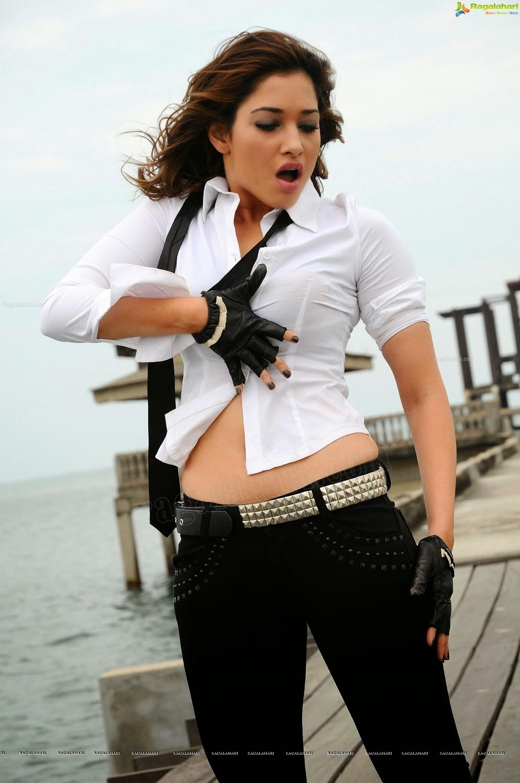 wsww: tamanna bhatia black tight milky hottest song in telugu film