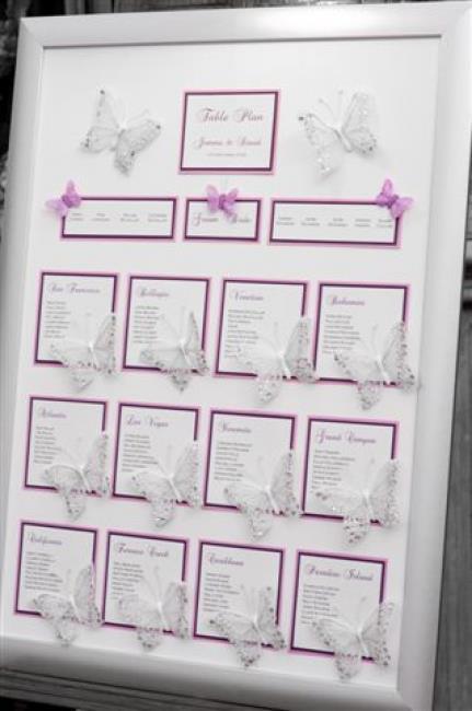 Matrimonio Tema Farfalle : Creazioni di simona matrimonio tema farfalle