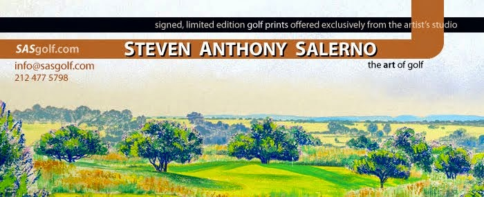 the golf art of Steven Anthony Salerno