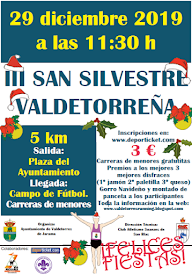 III San Silvestre Valdetorreña. 29 de diciembre