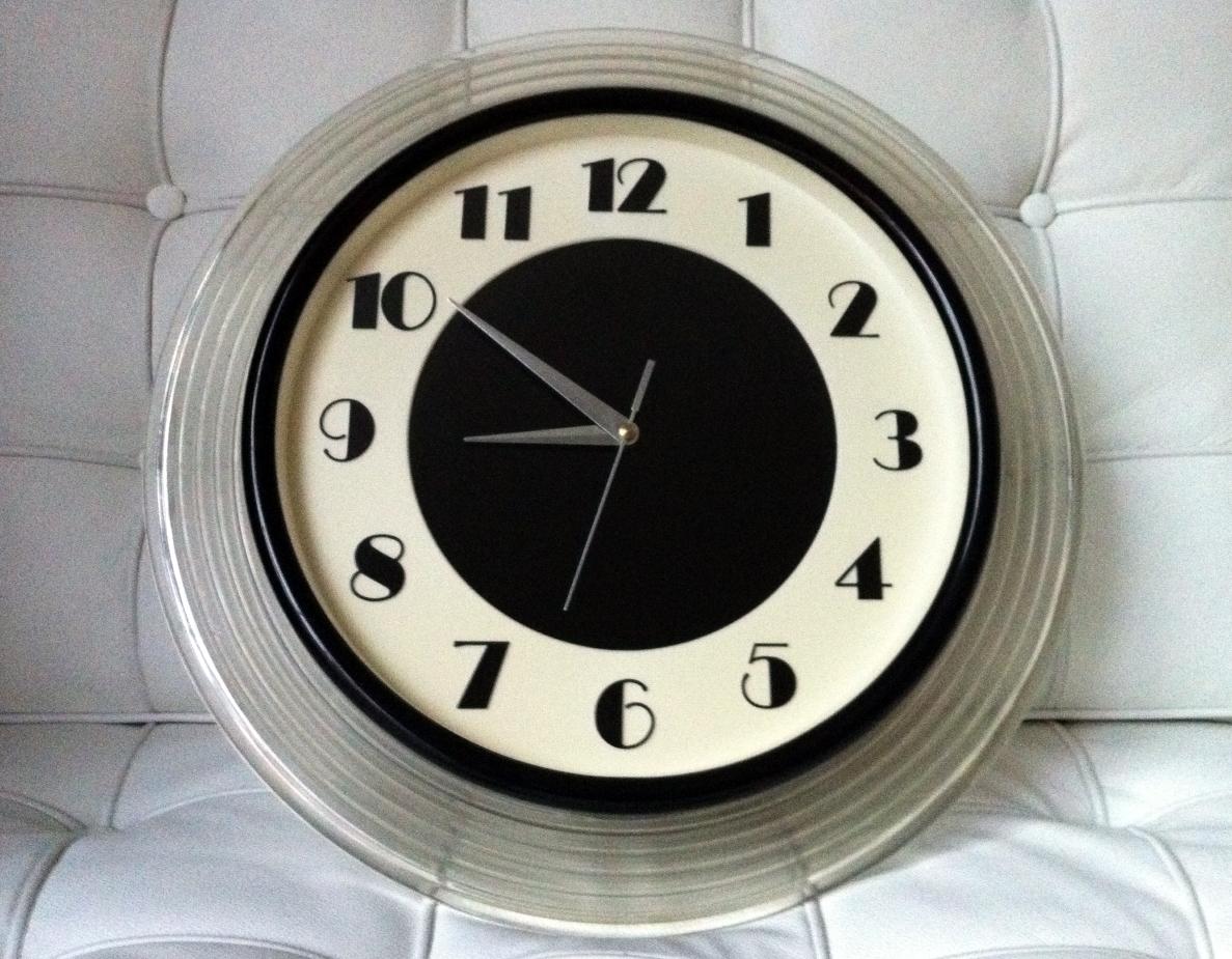 David Dangerous My Art Deco Wall Clock
