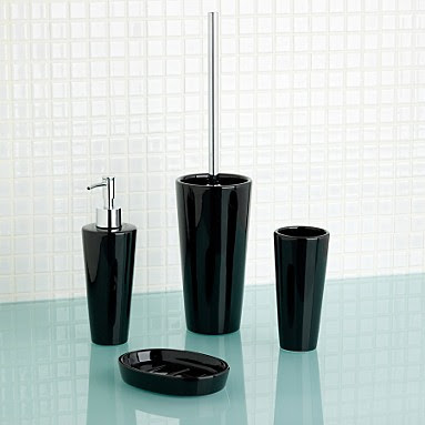 Modern Black Bathroom Accessories