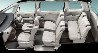 Mazda Biante - interior