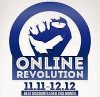 Produk Promo lazada online revolution