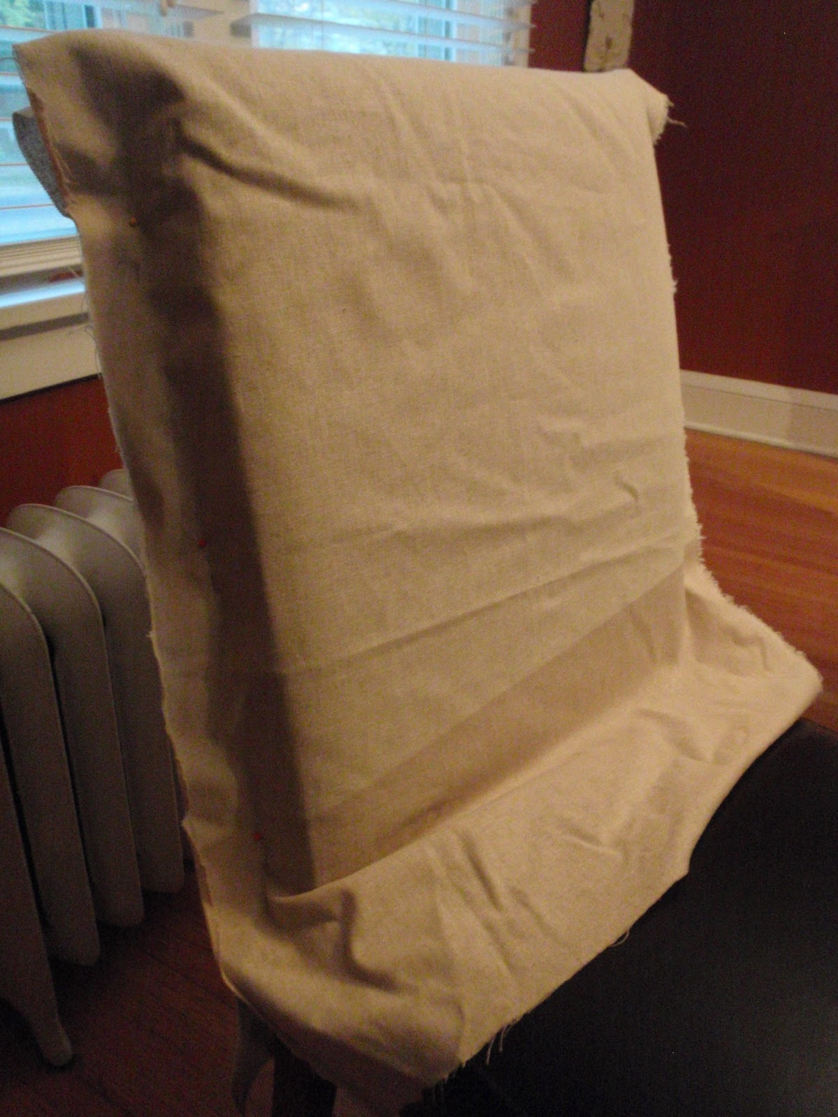 Northman's Party Vamps: DIY Grave Chair Covers