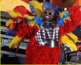 Cee Lo at the 2011 Grammy Awards